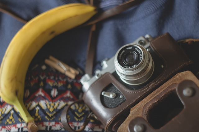 camera banana photo
